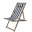 Liegestuhl Stoff Stripe