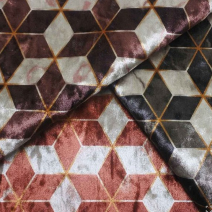 Ice Velvet Marbled Mosaic