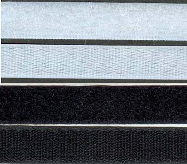 Klettband 10 mm, Haken - 5 m